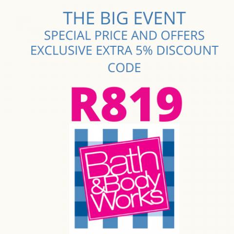 bath and body works promo